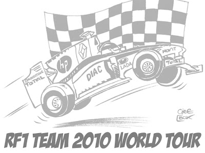 комиксы Renault F1 от Cirebox