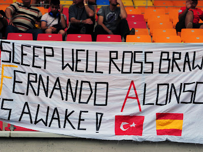 Sleep well Ross Brown
