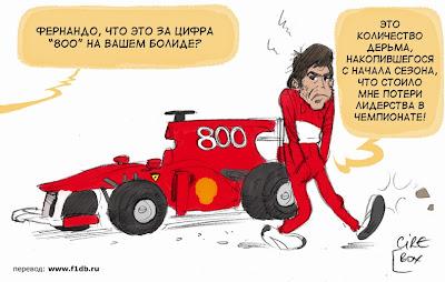 Фернандо Алонсо Ferrari Гран-при Турции 2010