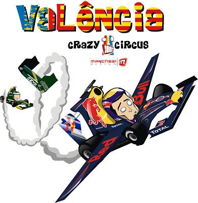 полет Марка Уэббера на Гран-при Европы 2010