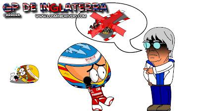 наказание Фернандо Алонсо на Гран-при Великобритании 2010