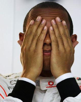 Льюис Хэмилтон на Гран-при Германии 2010