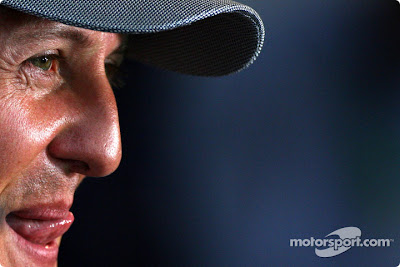 Михаэль Шумахер на Гран-при Германии 2010