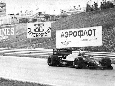 Айртон Сенна на дебютном Венгерском этапе