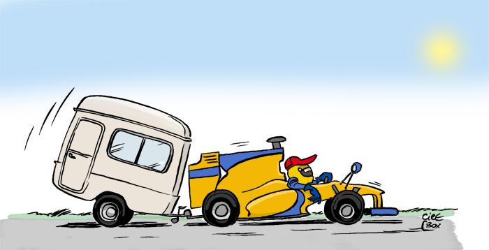 Формула-1 отправилась на летний перерыв 2010