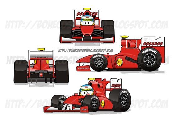 Фернандо Алонсо Ferrari Bruno Rafael