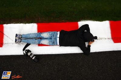 фотограф на Гран-при Бельгии 2010