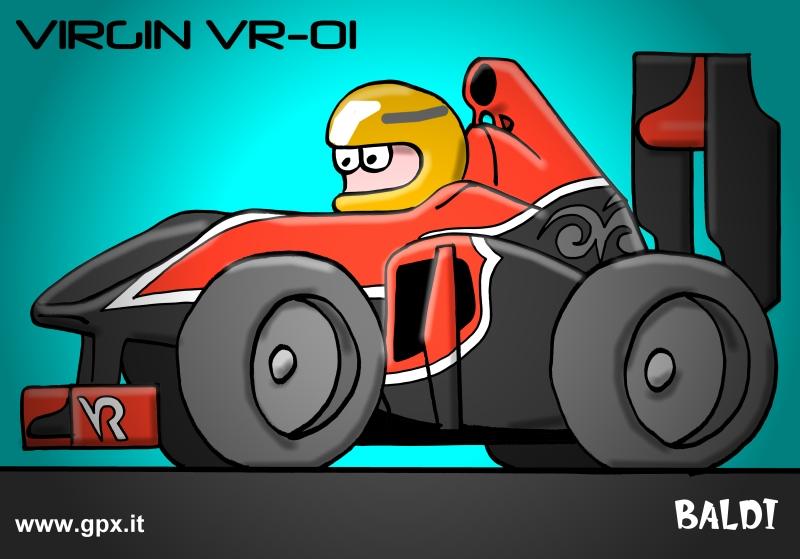 болид 2010 Virgin VR-01