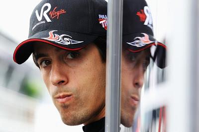 Лукас ди Грасси на Гран-при Бельгии 2010