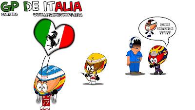 Фернандо Алонсо выигрывает за Ferrari на Гран-при Италии 2010