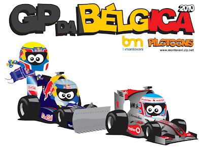 pilotoons Гран-при Бельгии 2010