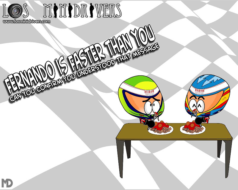 Fernando is faster than you Los MiniDrivers