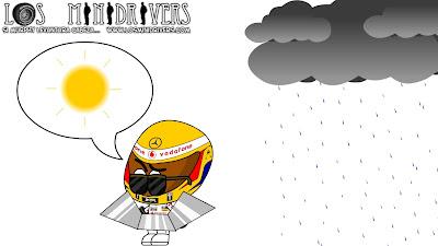 Льюис Хэмилтон и Закон Мерфи Los MiniDrivers