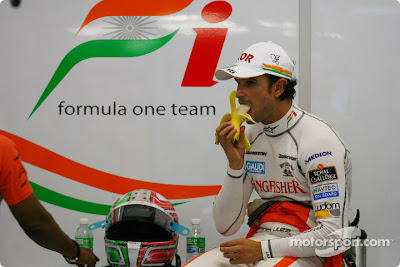 Витантонио Льюцци на Гран-при Сингапура 2010