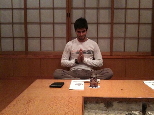 Хайме Альгерсуари в японском доме