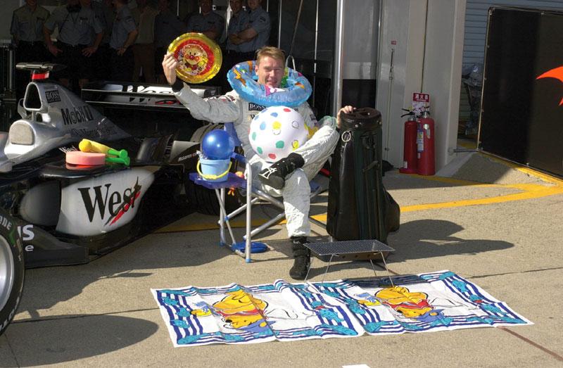Мика Хаккинен собирается в отпуск после финального Гран-при сезона