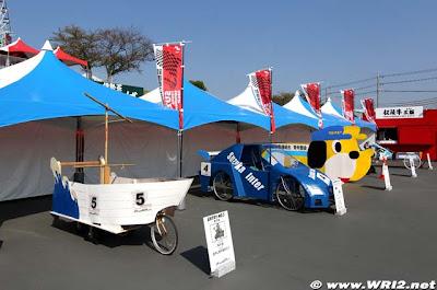 необычные болиды Формулы-1 Гран-при Японии 2010