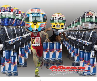 Maxx Racing Фернандо Алонсо и Льюис Хэмилтон Гран-при Кореи 2010