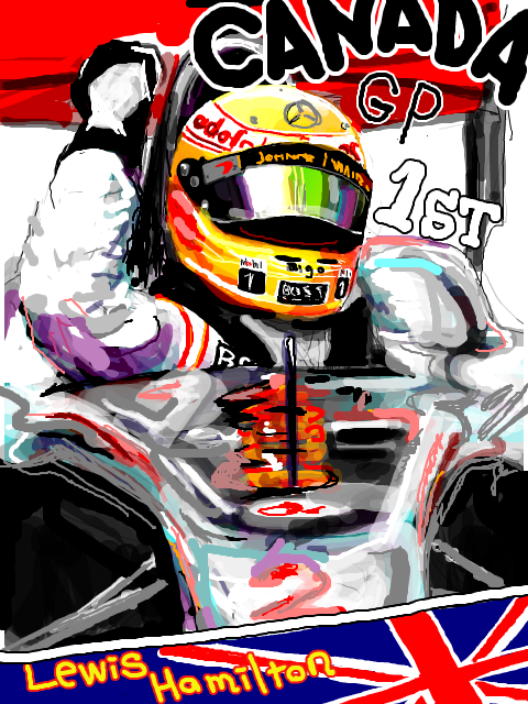 Льюис Хэмилтон побеждает на Гран-при Канады 2010