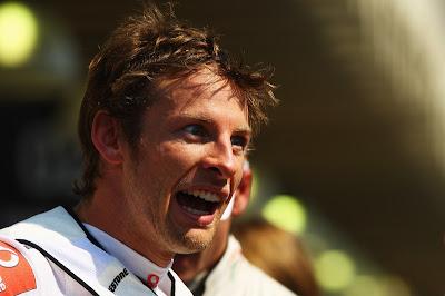 Дженсон Баттон на Гран-при Бразилии 2010