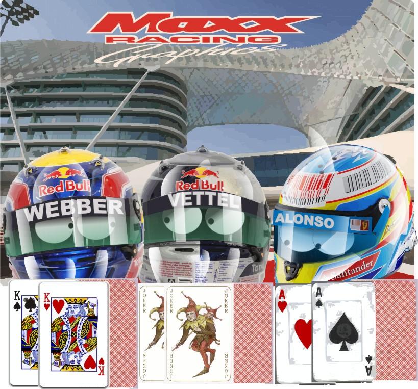 главные претенденты на титул перед Гран-при Абу-Даби 2010