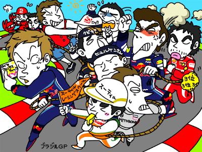 пилоты на Гран-при Бразилии 2010