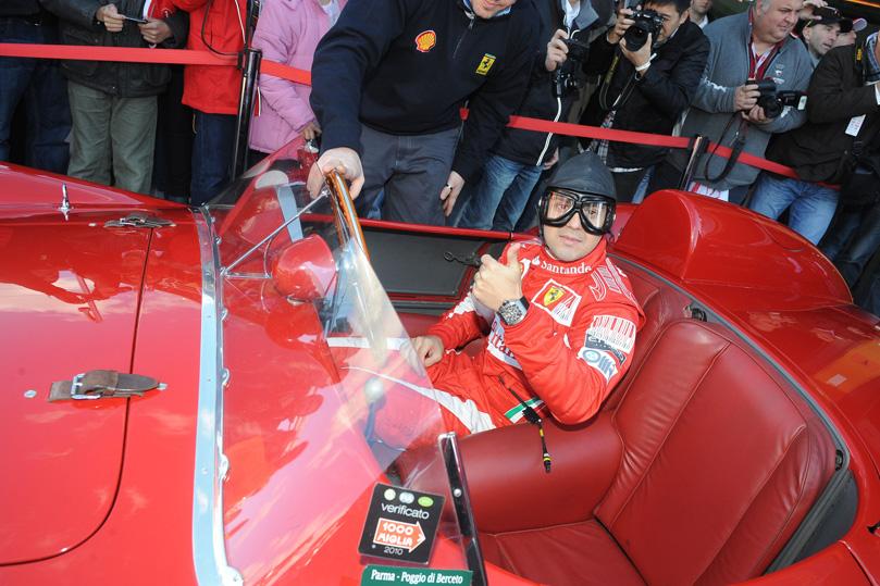 Фелипе Масса за рулем Ferrari 500 TRC 1957 года