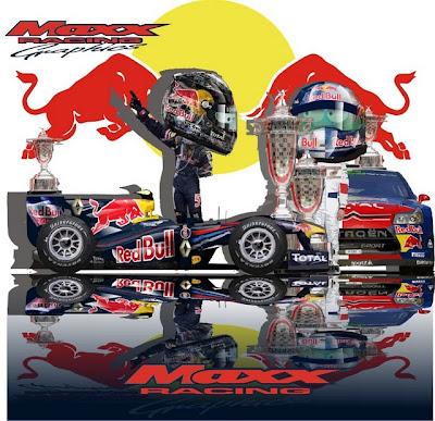 Себастьян Феттель и Себастьян Леб берут чемпионство для Red Bull Maxx Racing