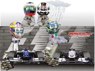 Пастор Мальдонадо и Серхио Перес заключают контракт с Williams и Sauber