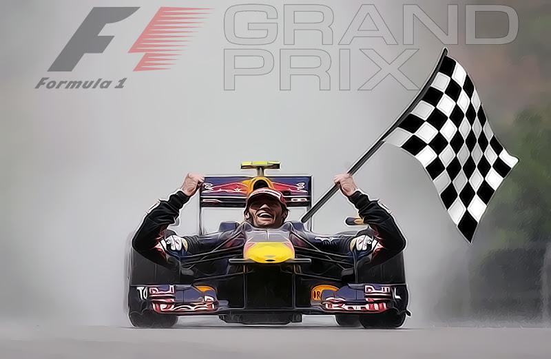 Марк Уэббер Red Bull победитель