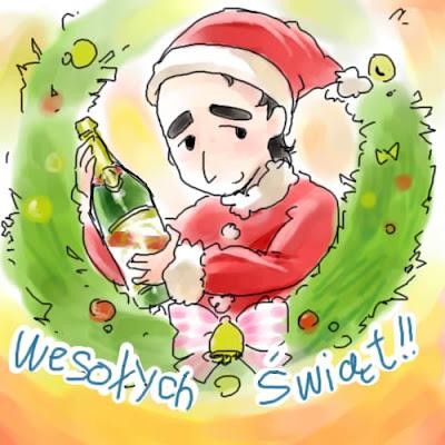 С Рождеством от Роберта Кубицы