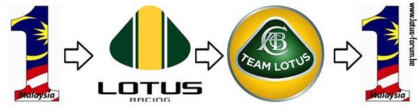 Malaysia 1 Lotus Racing Team Lotus Malaysia 1