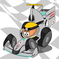 Нико Росберг в болиде Mercedes GP