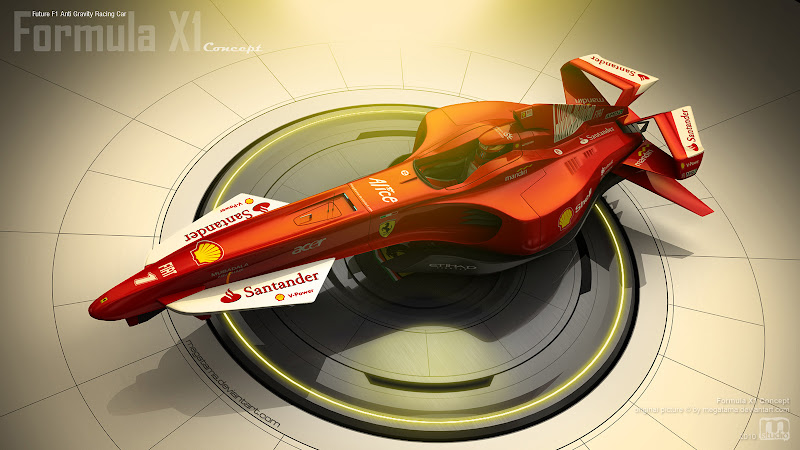 Formula X1 concept by megatama