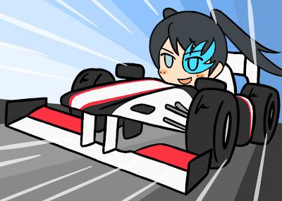 Sauber C30 аниме