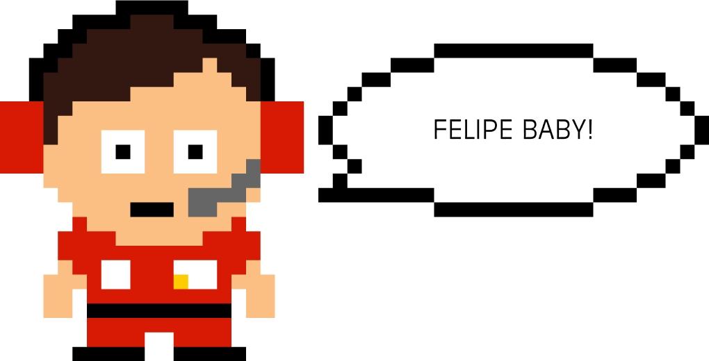 Felipe Baby Роб Смедли 8bit by Unlap
