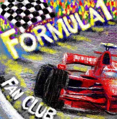 Formula 1 Fan Club Ferrari Autoartist Sergey Parfenjuk