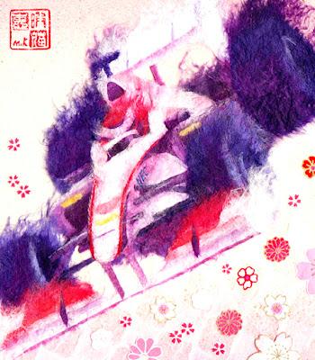 Камуи Кобаяши Sauber 2011 Kaneko Megumi