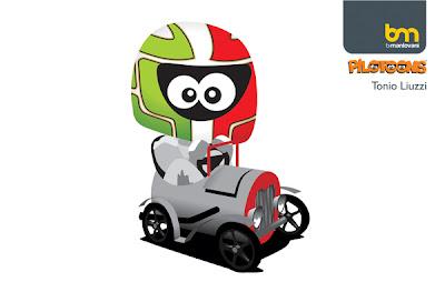 Витантонио Льюцци HRT 2011 pilotoons