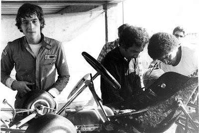 фото Айртон Сенна в картинговой гонке Сан-Паулу 1978 год