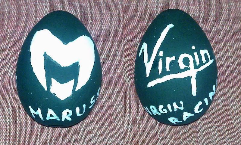 Easter Eggs F1 2011 Marussia Virgin