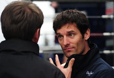 Марк Уэббер ведет вдохновленную беседу на Гран-при Турции 2011