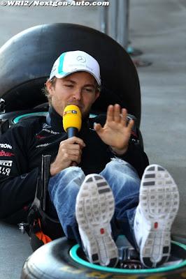 Нико Росберг интервью RTL на Гран-при Турции 2011