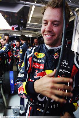 Себастьян Феттель на Гран-при Турции 2011