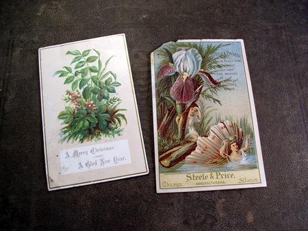 Vintage trade cards