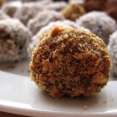 Ginger Orange Nut Balls