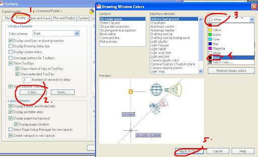 Cara Merubah Tampilan Interface AutoCAD 2010 ke Tampilan Classic