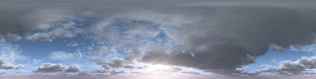 Download Gratis 3D Sketch UP Model Plus PureLIGHT HDRi Low Sun Clouds