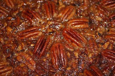 The English Toffee Pecan Pie from Martha Stewart's Pie ...