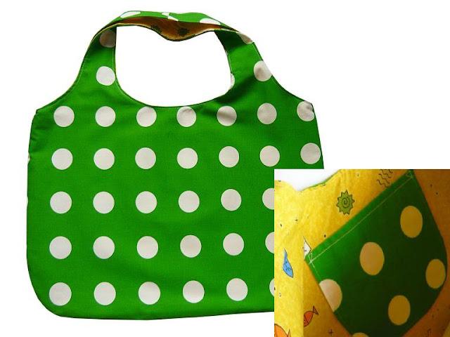 zielona torba